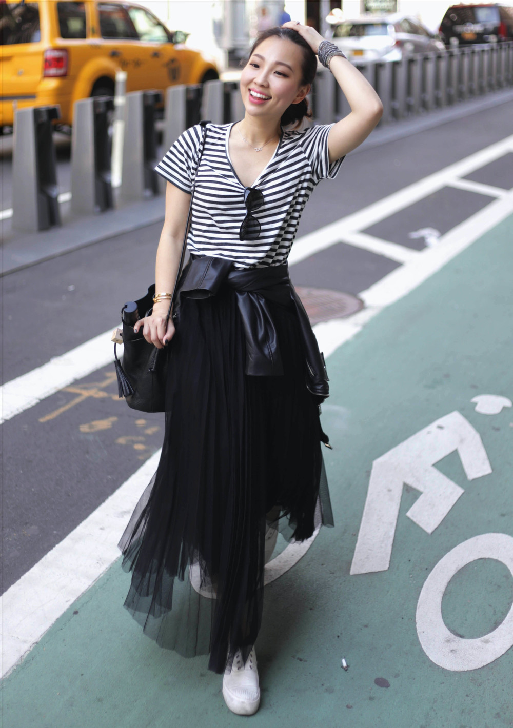 black and white stripe t shirt outfit.jpg