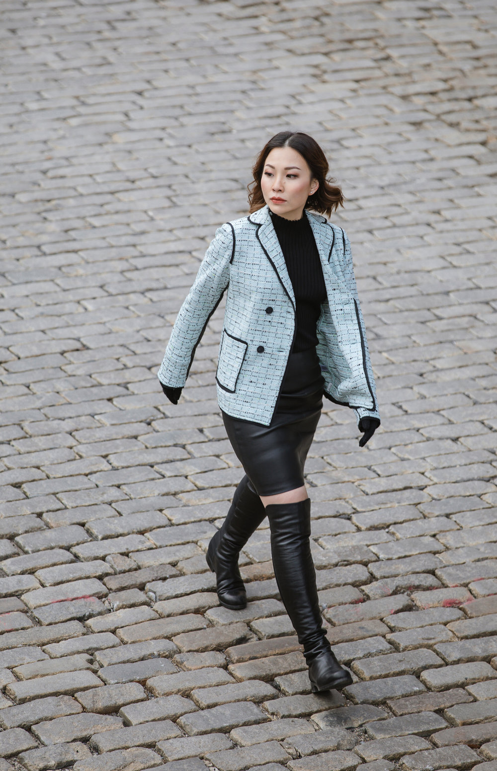 st john knits adriana multi tweed jacket nyc style.JPG