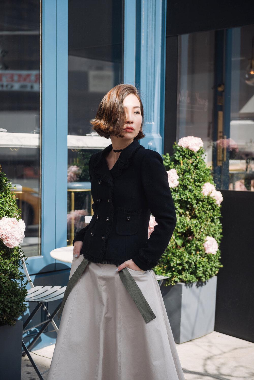 oscar de la renta jacket fashion blogger.JPG
