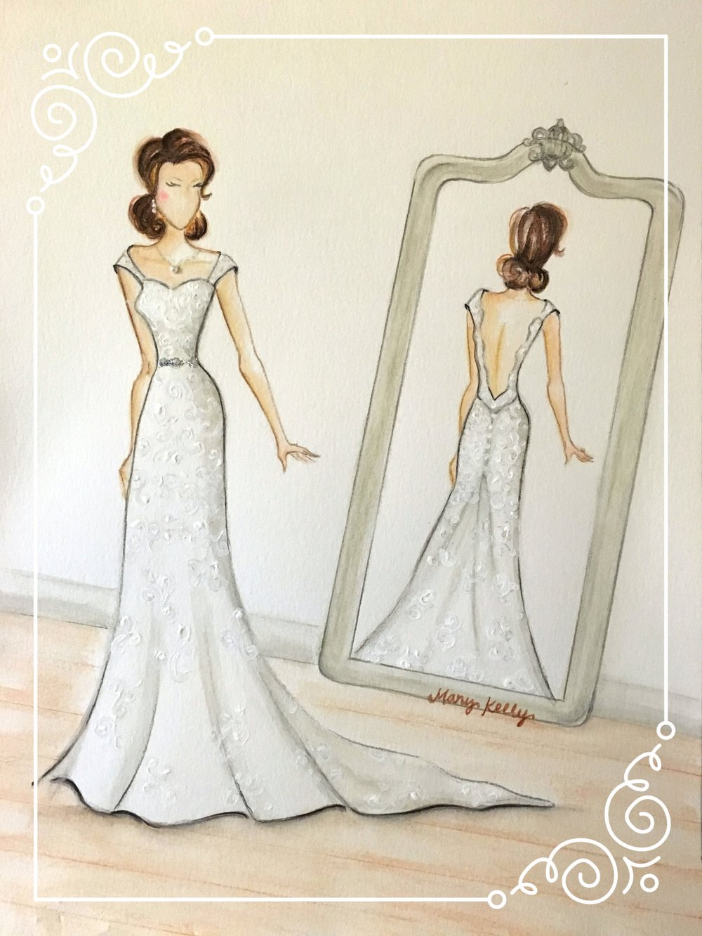 NEW! ashley's wedding gown, mary kelly designs © 2018