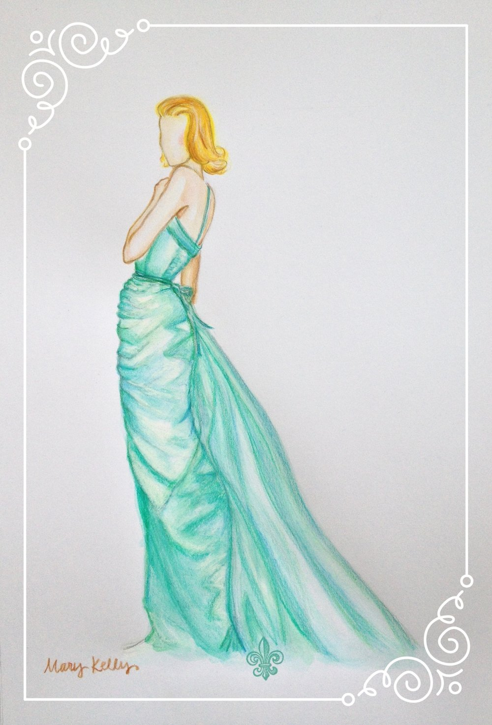 grace's academy award gown, mary kelly designs © 2017