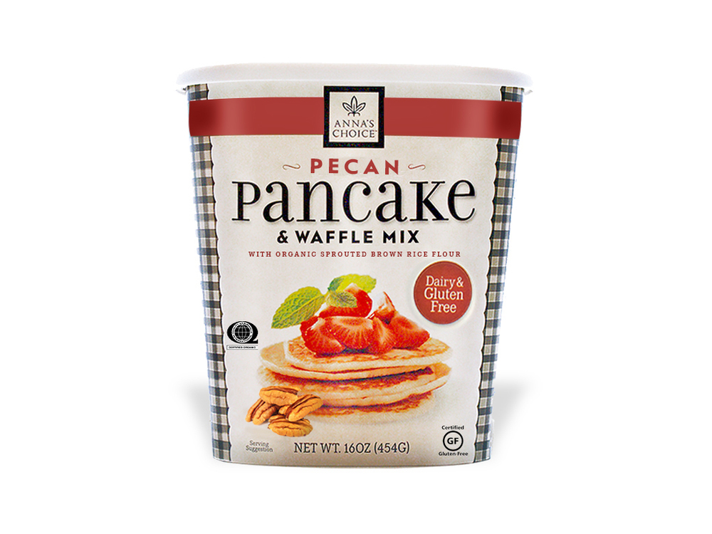 Anna's Choice Pecan Pancake Mix - Dairy & Gluten Free