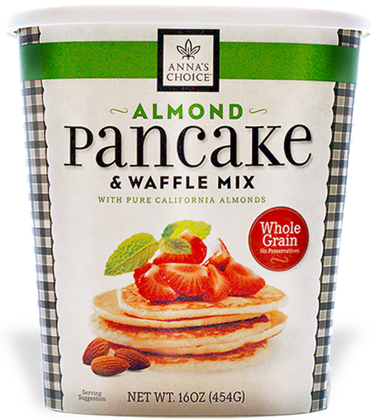 Anna's Choice Almond Pancake Mix