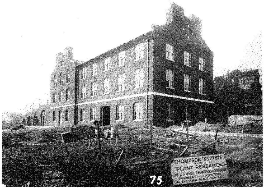 Historic photograph of the Boyce Thompson Center