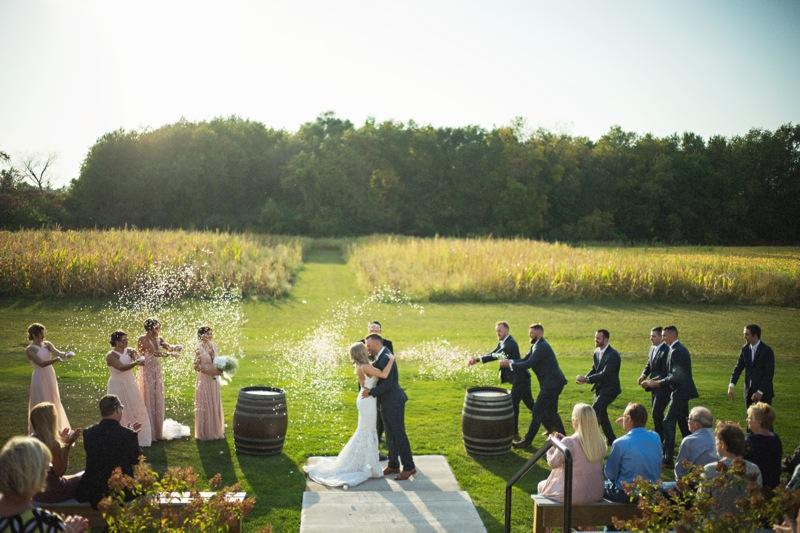 Ceremony venue at Ashton Hill in Cedar Rapids