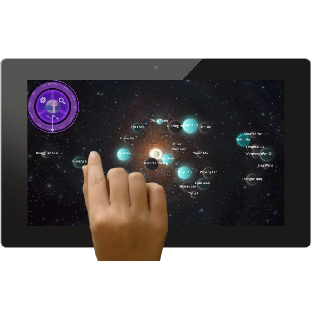 SOCIAL GALAXY visualize social network system