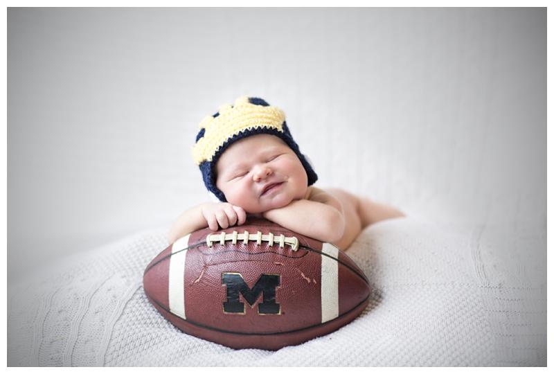 newborn baby university of michigan football.jpg