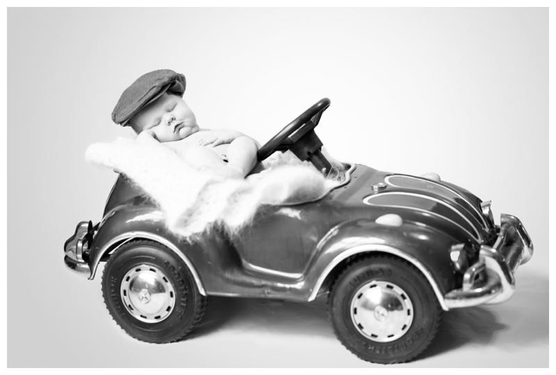 newborn baby vintage pedal car.jpg