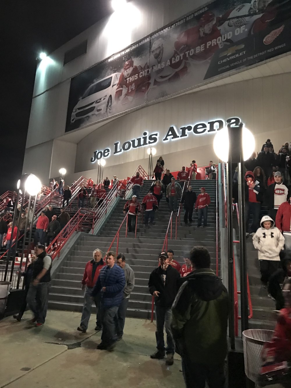 A brief farewell to Joe Louis Arena - April 2017