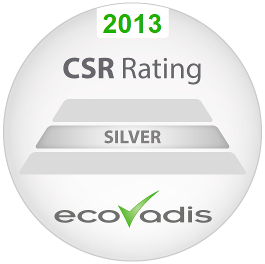 Calibre has received a silver EcoVadis CSR rating.