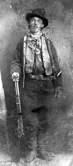 This photo of legendary outlaw Billy the Kid was sold at auction for $2 million.