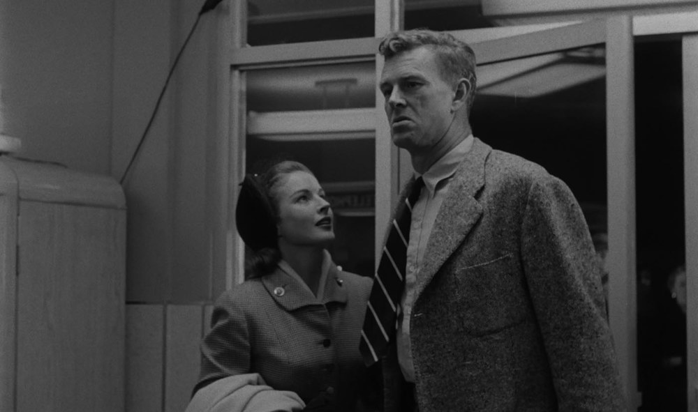 with Sterling Hayden in The Killing (1956)