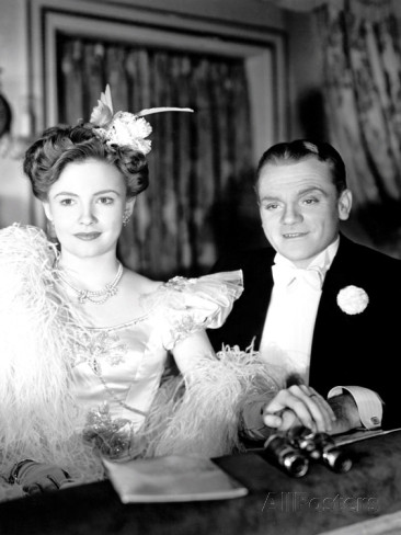 with James Cagney in Yankee Doodle Dandy (1942)