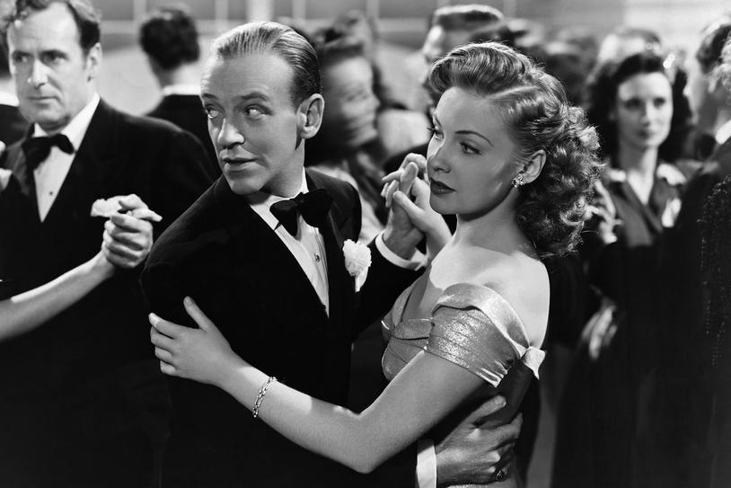 and with Fred Astaire in The Sky's the Limit (1943)