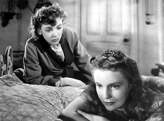 with Ida Lupino in The Hard Way (1943)