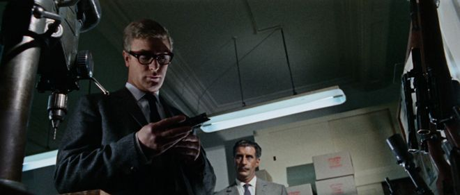 Michael Caine and Nigel Green