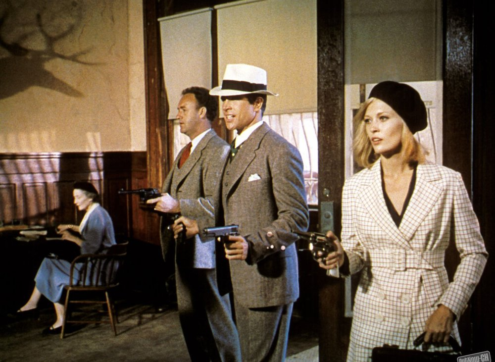 Gene Hackman, Warren Beatty, Faye Dunaway