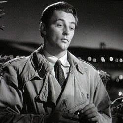 Robert Mitchum as Jeff Bailey/Markham in Out of the Past (1947) whistles a bit of Roy Webb's theme from his score.