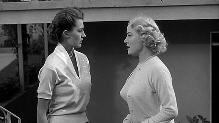 (From left) Cyd Charisse, Audrey Totter