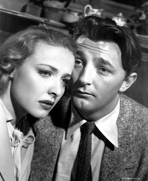 Laraine Day, Robert Mitchum
