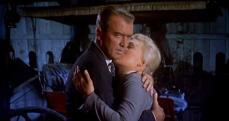 James Stewart, Kim Novak