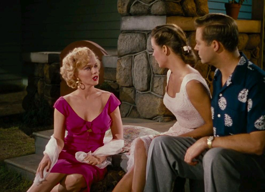 Marilyn Monroe, Jean Peters, Max Showalter