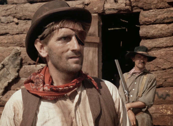 Harry Dean Stanton as Blind Dick in  Ride in the Whirlwind  (1966)