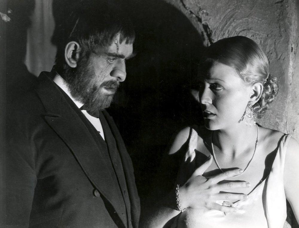 Boris Karloff, Gloria Stuart