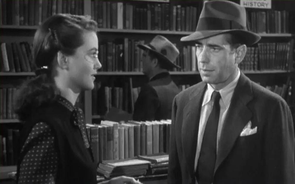 Dorothy Malone, Humphrey Bogart