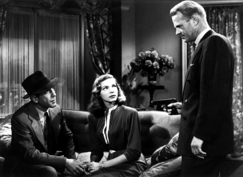 Humphrey Bogart, Lauren Bacall, Louis Jean Heydt