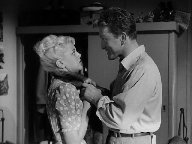 Jan Sterling, Kirk Douglas