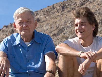 (From left) Hal Holbrook, Emile Hirsch