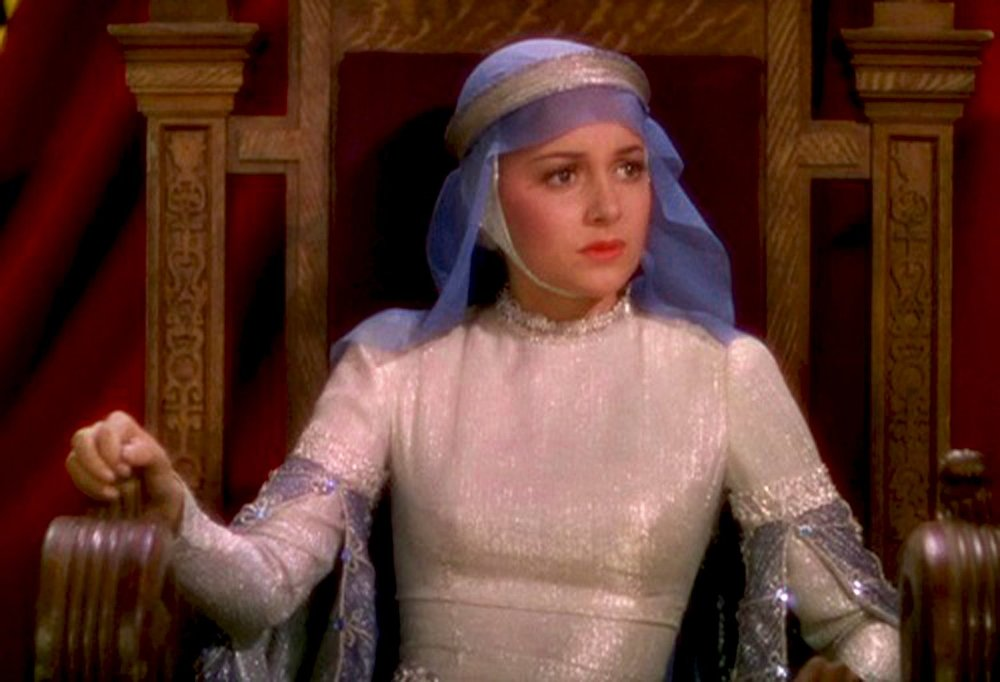 Olivia de Havilland as Maid Marian in  The Adventures of Robin Hood