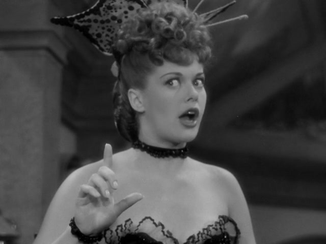 Janis Paige as Emily Carson in  Cheyenne