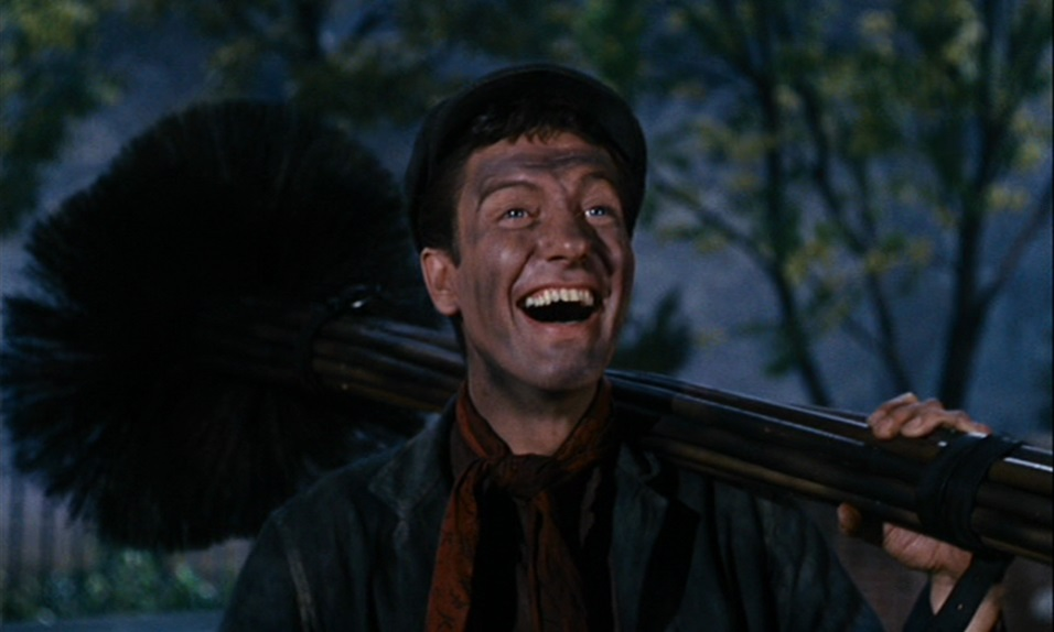 Dick Van Dyke as Bert / Mr. Dawes Senior in  Mary Poppins