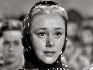 Glynis Johns as Anna in  49th Parallel