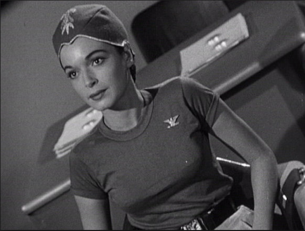 Donna Martell as Colonel Briteis in  Project Moon Base