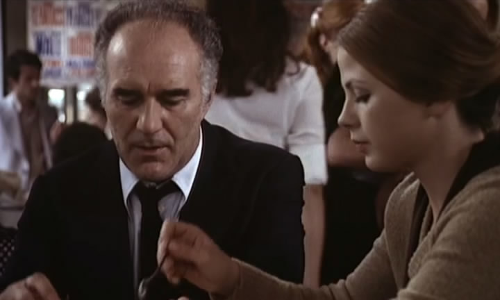 Michel Piccoli as Simon Léotard with Ottavia Piccolo as Mado in  Mado