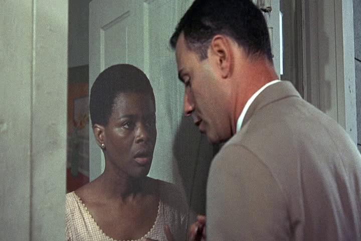 Cicely Tyson as Portia with Alan Arkin as John Singer in  The Heart Is a Lonely Hunter