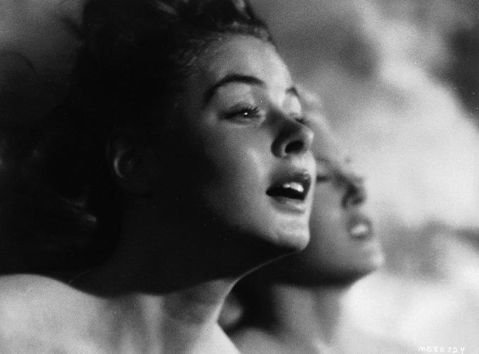 (From left) Ingrid Bergman, Lana Turner