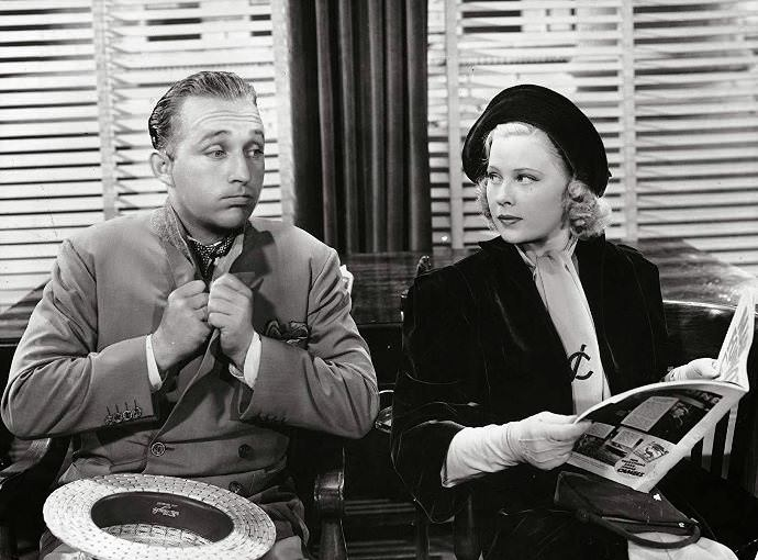 Bing Crosby and Mary Carlisle in DOUBLE OR NOTHING