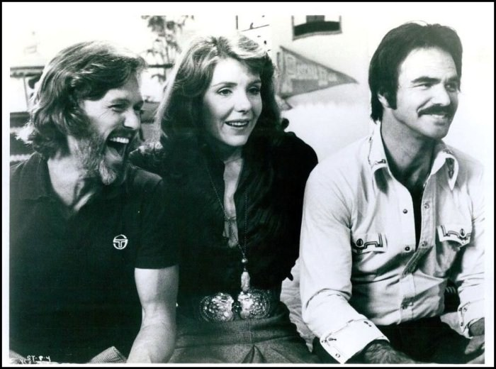 Kris Kristofferson, Jill Clayburgh, and Burt Reynolds in SEMI-TOUGH