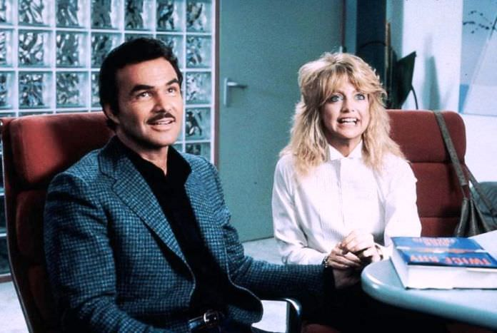 Burt Reynolds and Goldie Hawn in BEST FRIENDS