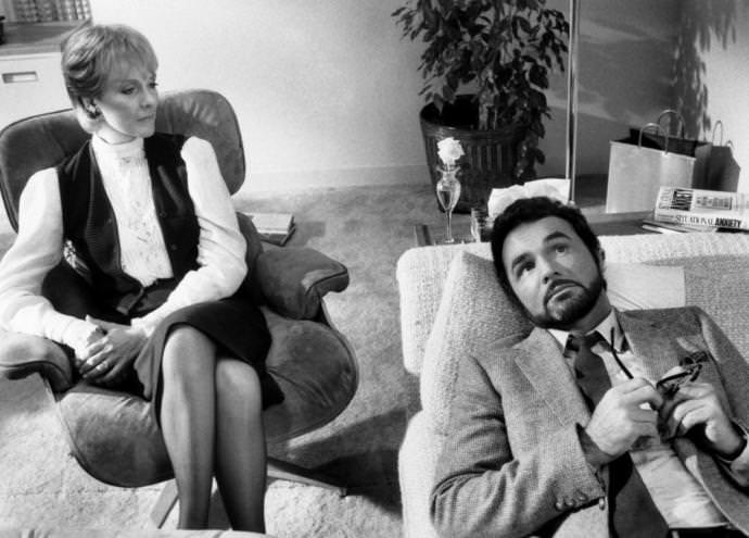 Julie Andrews and Burt Reynolds in THE MAN WHO LOVED WOMEN