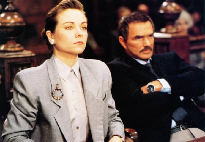Theresa Russell and Burt Reynolds in PHYSICAL EVIDENCE