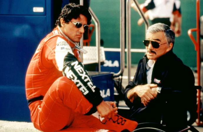 Sylvester Stallone and Burt Reynolds in DRIVEN