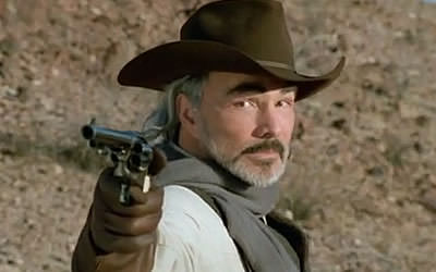 Burt Reynolds in HARD GROUND