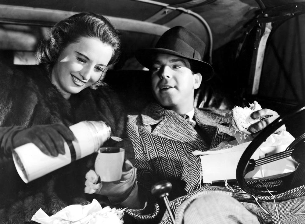 Barbara Stanwyck and Fred MacMurray