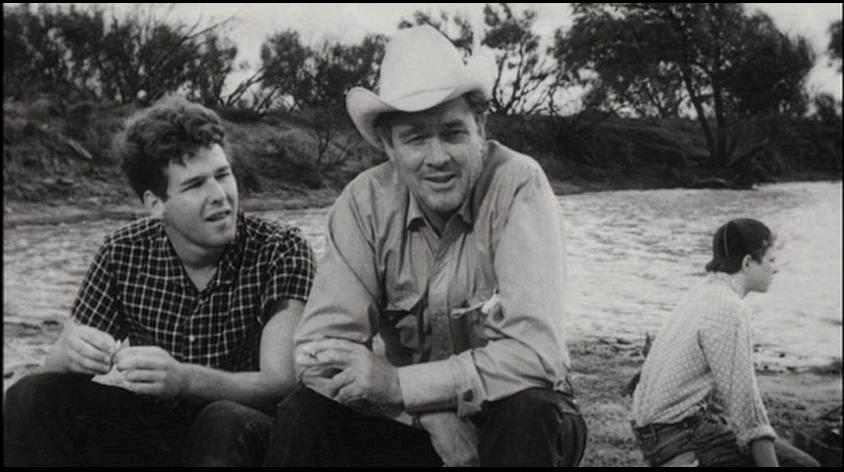 (From left) Timothy Bottoms, Ben Johnson, Sam Bottoms