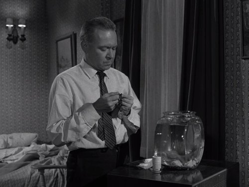 "Richard Erdman in ""The Twilight Zone: A Kind of a Stopwatch"" (1963)"